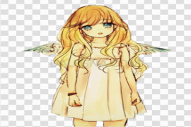 Anime Girl Render PNG Picture