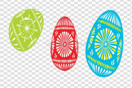 Single Easter Egg PNG Picture