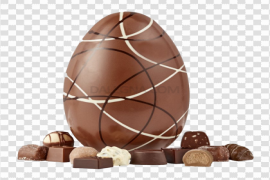 Easter Egg Chocolate PNG Image