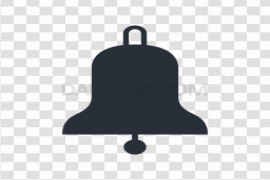 YouTube Bell Icon Background PNG