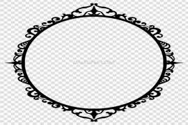 Vector Funeral Frame PNG Photos