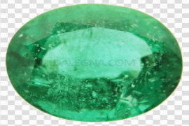 Round Emerald Stone PNG Image