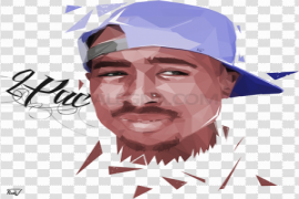 2Pac PNG Image
