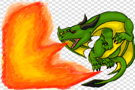 Dragon Fire Flame PNG Clipart