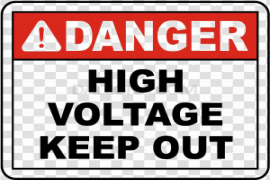High Voltage Sign PNG Free Download