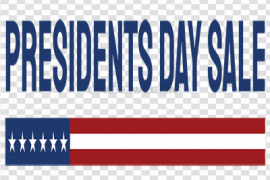 Presidents Day Sale PNG Photos