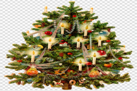 Christmas Old Fashioned PNG Photos