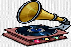 Gramophone PNG Picture