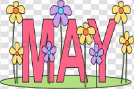May PNG Clipart