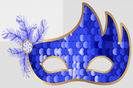 Purim Mask PNG Clipart