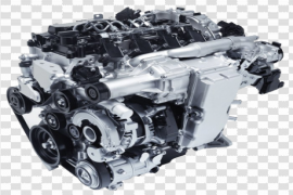 Diesel Engine PNG Picture