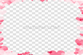 Love Frame PNG Transparent Picture