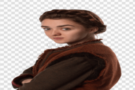 Actress Maisie Williams PNG HD