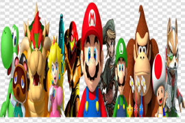 Nintendo Characters PNG Clipart