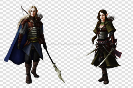 Male Elf PNG Clipart Background