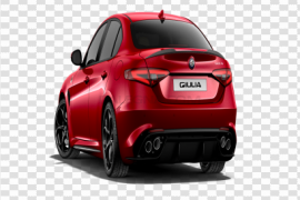 Red Alfa Romeo PNG Clipart
