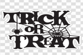 Halloween Trick Or Treat PNG Picture
