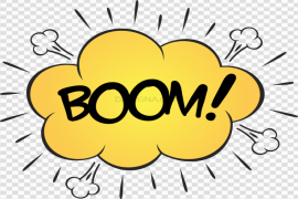 Comic Explosion PNG Clipart