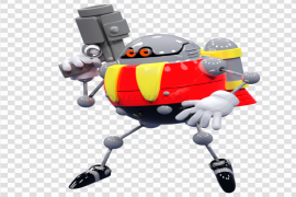 Eggrobo Sonic Lost World PNG Transparent Picture