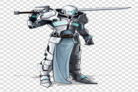 Sci Fi Warrior PNG File