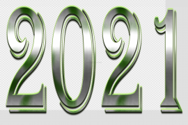 2021 Year PNG Clipart