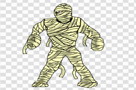 Scary Mummy PNG Photos