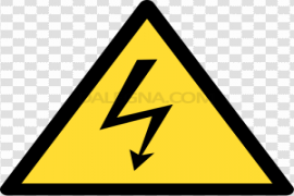 High Voltage Sign PNG Clipart