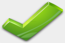 Green Tick PNG Photo