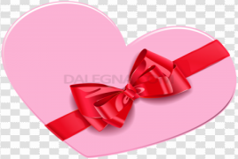 Red Heart Box PNG Clipart