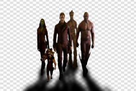 Guardians of The Galaxy PNG Photo
