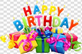 Happy Birthday PNG Pic