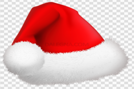 Christmas Red Hat PNG File