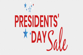 Presidents Day Sale PNG Transparent Image