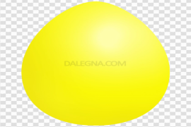 Plain Yellow Easter Egg PNG Free Download