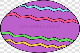 Purple Easter Egg PNG Photos