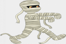 Scary Mummy PNG Clipart