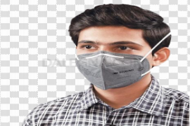 Anti-Pollution Face Mask PNG File