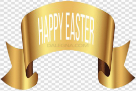 Easter Banner PNG Free Download