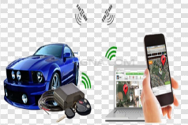 GPS Tracking System PNG Background Image