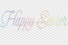 Happy Easter Logo PNG Pic