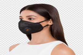 Anti-Pollution Face Mask Transparent Background