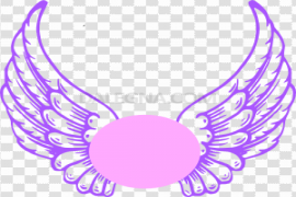 Angel Halo Wings Transparent PNG