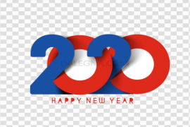 Happy New Year 2020 PNG Transparent Picture