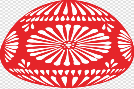 Red Easter Egg PNG Picture