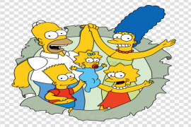 The Simpsons PNG Transparent Image