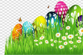 Grass Easter Egg PNG Free Download