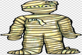 Horror Mummy PNG File