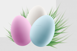 Colorful Easter Egg PNG HD