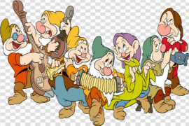 Snow White And The Seven Dwarfs PNG Free Download