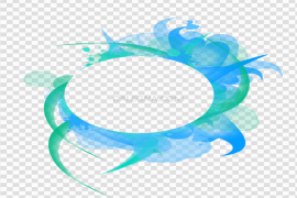 Abstract Frame PNG Pic